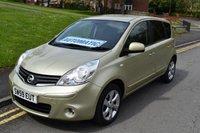 2009 NISSAN NOTE 1.6 TEKNA 5d AUTO 110 BHP £3999.00