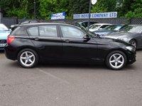 USED 2016 16 BMW 1 SERIES 1.5 116D ED PLUS 5d 114 BHP Nav,Cruise,Media