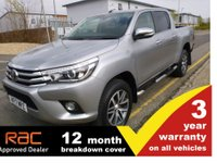 USED 2017 17 TOYOTA HI-LUX Double Cab 2.4 Invincible 4WD D-4D 150ps AUTO