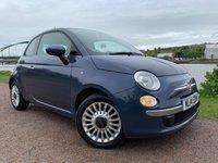 2014 FIAT 500 1.2 LOUNGE 3d 69 BHP £4990.00