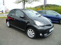 USED 2013 63 TOYOTA AYGO 1.0 VVT-I MODE 5d 68 BHP IDEAL FIRST CAR, LOW MILEAGE,  SERVICE HISTORY, FREE ROAD TAX, LOW INSURANCE AIR CON, PRIVACY GLASS, RADIO/CD