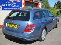 USED 2011 11 MERCEDES-BENZ C CLASS 2.1 C220 CDI BLUEEFFICIENCY SPORT 5d 170 BHP £3,200 OF FACTORY OPTIONS