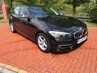 2015 BMW 1 SERIES 1.5 116D ED PLUS 5d 114 BHP £8990.00