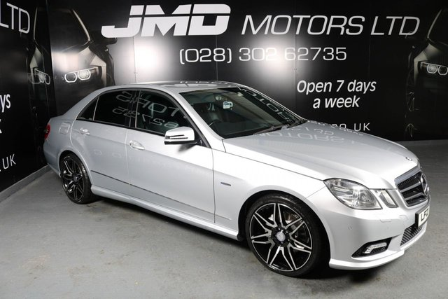2009 MERCEDES-BENZ E CLASS E250 CDI BLUEEFFICIENCY SPORT AUTO 204 BHP (FINANCE AND WARRANTY)