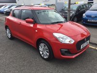 USED 2017 M SUZUKI SWIFT 1.0 SZ-T BOOSTERJET 5d 111 BHP OUR  PRICE INCLUDES A 6 MONTH AA WARRANTY DEALER CARE EXTENDED GUARANTEE, 1 YEARS MOT AND A OIL & FILTERS SERVICE. 6 MONTHS FREE BREAKDOWN COVER. CALL US NOW FOR MORE INFORMATION OR TO BOOK A TEST DRIVE ON 01315387070 !!