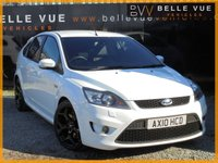 USED 2010 10 FORD FOCUS 2.5 ST-3 5d 223 BHP *FROZEN WHITE, SONY DAB RADIO*