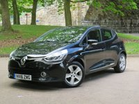USED 2016 16 RENAULT CLIO 0.9 DYNAMIQUE NAV TCE 5d 89 BHP