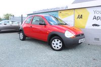 2004 FORD KA 1.3 1.3 3d 69 BHP PETROL RED £1290.00