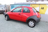 USED 2004 04 FORD KA 1.3 1.3 3d 69 BHP PETROL RED GENUINE LOW MILEAGE + FULL SERVICE HISTORY