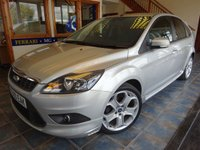 USED 2010 10 FORD FOCUS 1.8 ZETEC S S/S 5d 124 BHP SATNAV, BLUETOOTH, USB, AUX!