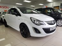 USED 2013 63 VAUXHALL CORSA 1.2 LIMITED EDITION 3d+SERVICE HISTORY+LOW MILES+VXR STYLING KIT