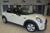 USED 2015 15 MINI HATCH COOPER 1.5 COOPER 5d 134 BHP FINISHED IN STUNNING PEPPER WHITE WITH CARBON BLACK CLOTH SEATS + £20 ROAD TAX + MINI EXCLUSIVE SERVICE PACK 30/3/2020 OR 50K MILES + BLUETOOTH + DAB RADIO + PEPPER PACK 2 + 15 INCH ALLOYS + AIR CONDITIONING