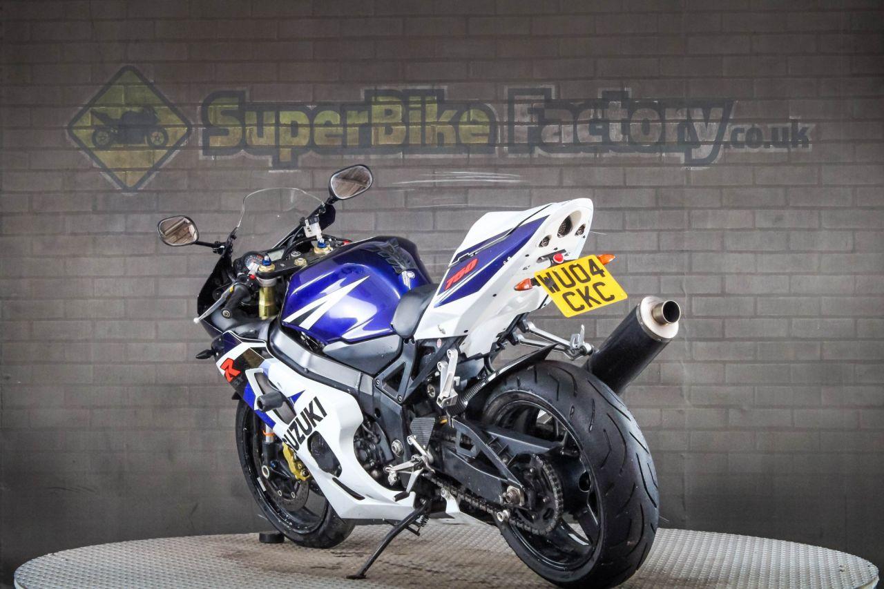 2004 Suzuki Gsxr750 Gsxr 750 K4 £2,987