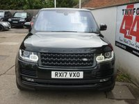 USED 2017 17 LAND ROVER RANGE ROVER 5.0 V8 AUTOBIOGRAPHY 5d AUTO 510 BHP DEPLOYABLE SIDE STEPS,LAND ROVER WARRANTY,ONE OWNER