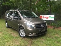 USED 2015 15 MERCEDES-BENZ VITO 2.1 119 BLUETEC AUTO DUALINER LWB EURO 6 Automatic, Euro 6, Full Leather, Rear Camera
