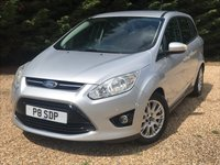 USED 2012 P FORD GRAND C-MAX 1.6 TITANIUM 5d 148 BHP