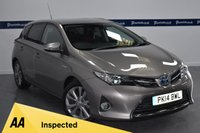 USED 2014 14 TOYOTA AURIS 1.8 EXCEL VVT-I 5d AUTO 100 BHP (4 STAMP DEALER HISTORY SERVICE HISTORY)