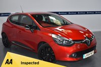 USED 2014 64 RENAULT CLIO 0.9 DYNAMIQUE S MEDIANAV ENERGY TCE S/S 5d 90 BHP (ONE OWNER - LOW MILEAGE)