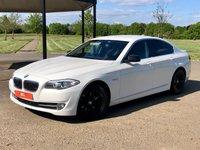 2012 BMW 5 SERIES 2.0 520D SE AUTO 181 BHP 4DR SALOON £7795.00