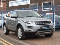 USED 2012 12 LAND ROVER RANGE ROVER EVOQUE 2.2 TD4 PURE 5d FULL HEATED LEATHER ~ FULL SERVICE HISTORY  ~ MERIDIAN SOUNDS ~ CRUISE CONTROL ~ PARKING SENSORS ~ AIR CONDITIONING ~ BLUETOOTH ~ DAB ~ 4X4 ~ DRL