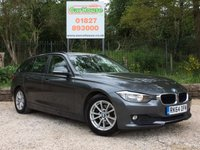 USED 2014 64 BMW 3 SERIES 2.0 320D EFFICIENTDYNAMICS BUSINESS TOURING 5dr Sat Nav, Heated Leather, 1 Own
