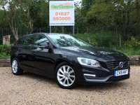 USED 2015 15 VOLVO V60 2.0 D4 BUSINESS EDITION 5dr £0 Tax, Sat Nav, FVSH