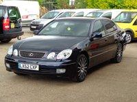 2002 LEXUS GS 3.0 300 SE 4d AUTO 211 BHP £1525.00