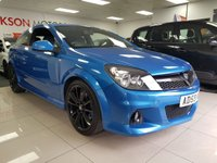 USED 2010 59 VAUXHALL ASTRA 2.0 VXR 3d+SERVICE HISTORY+CAMBELT CHANGED+BLUE+BLACK WHEELS+