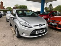 2011 FORD FIESTA 1.2 EDGE 3d 81 BHP £4999.00