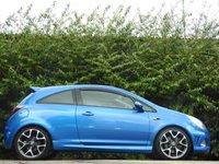 USED 2011 11 VAUXHALL CORSA 1.6 VXR 3d 189 BHP ONLY 43K FSH A/C RECARO VGC