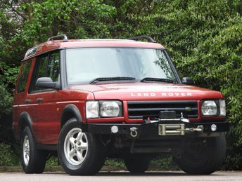 1998 LAND ROVER DISCOVERY 2.5 TD5 GS 5STR 5d 136 BHP £1500.00