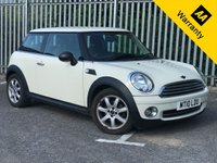 USED 2010 10 MINI HATCH ONE 1.6 ONE 3d. VERY LOW MILEAGE