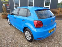 USED 2016 16 VOLKSWAGEN POLO 1.0 BlueMotion Tech S (s/s) 5dr Bluetooth-Long MOT-Low mileage