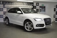 USED 2013 13 AUDI Q5 2.0 TDI QUATTRO S LINE PLUS S/S 5d 175 BHP 2 FORMER KEEPERS with SERVICE HISTORY & 12 MONTHS MOT