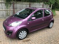 USED 2013 63 PEUGEOT 107 1.0 ACTIVE 5d 68 BHP TWO LADY OWNERS + FULL SERVICE RECORDS