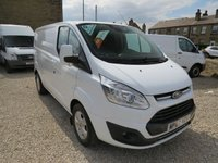 2017 FORD TRANSIT CUSTOM 290 LIMITED 130ps 2.0TDCi EURO6 LONDON FRIENDLY L1 H1 VAN £14495.00