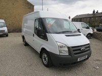 2011 FORD TRANSIT 85T 280 2.2TDCi MWB MEDIUM ROOF VAN  £6750.00