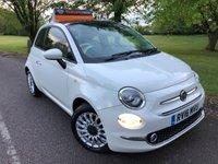 2016 FIAT 500 1.2 LOUNGE 3d 69 BHP £5995.00