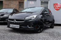 USED 2015 65 VAUXHALL CORSA SRi VX-Line 1.4 3dr ( 90 bhp ) 2 Previous Owners Full Vauxhall History Stunning Example Black Pack