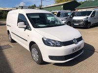 USED 2013 13 VOLKSWAGEN CADDY MAXI 1.6 C20 TDI BMT 102 BHP LOW MILEAGE