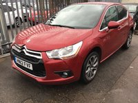 USED 2012 12 CITROEN DS4 1.6 DSTYLE 5d 118 BHP Stunning looking DS4, 34000 miles, superb