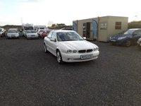 2002 JAGUAR X-TYPE 2.1 V6 SPORT 4d 157 BHP £1595.00