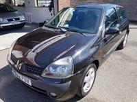 2002 RENAULT CLIO 1.5 DYNAMIQUE DCI 3d 65 BHP £995.00
