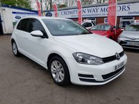 USED 2014 14 VOLKSWAGEN GOLF 1.6 SE TDI BLUEMOTION TECHNOLOGY DSG 5d 103 BHP 0%  FINANCE AVAILABLE ON THIS CAR PLEASE CALL 01204 393 181