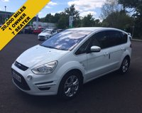 USED 2013 63 FORD S-MAX 2.0 TDCI TITANIUM 163 BHP THIS VEHICLE IS AT SITE 1 - TO VIEW CALL US ON 01903 892224