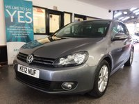 USED 2012 12 VOLKSWAGEN GOLF 2.0 MATCH TDI BLUEMOTION TECHNOLOGY 5d 138 BHP This Golf is finished in United Grey metallic with Black cloth seats. It is fitted with power steering, remote locking, VW Satellite Navigation, start stop, electric windows and mirrors, air conditioning, cruise control, front and rear parking sensors with reverse camera, auto lights, space saver spare wheel, Bluetooth, alloy wheels, CD Stereo with Aux & USB port and more. It has a full VW service history consisting of 3 stamps and 2 independent services, last done at 72644 miles.