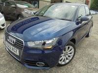 USED 2012 62 AUDI A1 1.6 SPORTBACK TDI SPORT 5d 103 BHP Excellent Condition, Great City Car, Excellent Economy, No Fee Finance and No Deposit Necessary
