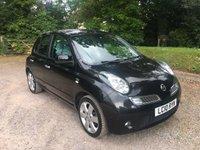 2010 NISSAN MICRA 1.2 N-TEC 5d AUTO 80 BHP £4285.00