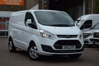 2017 FORD TRANSIT CUSTOM 2.0 290 LIMITED LR P/V 1d 129 BHP £13999.00