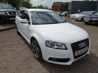 USED 2012 12 AUDI A3 2.0 SPORTBACK TDI S LINE SPECIAL EDITION 5d AUTO 138 BHP £2005 OPTIONAL EXTRAS FITTED